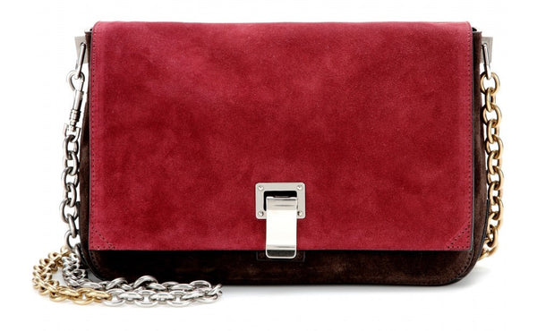 PROENZA SCHOULER - PS COURIER SUEDE SHOULDER BAG Ladies