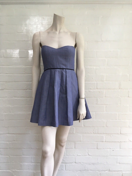 JASMINE DI MILO STRAPLESS A-LINE DRESS SIZE UK 8 US 4 EUR 36 S SMALL Ladies