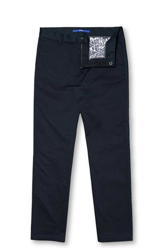 Spoke London Classic Navy chino - Trousers Pants Men 38 Men