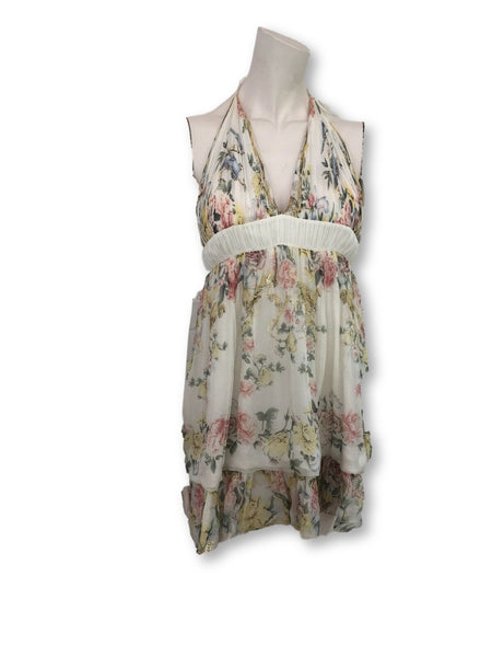 Roberto Cavalli Runaway Summer Floral DRESS Ladies