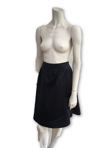 Burberry Prorsum Runaway navy high-waist pencil skirt I 40 UK 8 US 6 LADIES