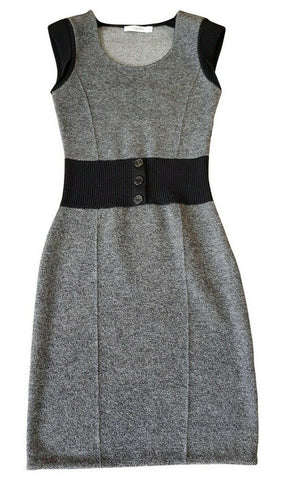 Christian Dior Iconic Collectors Piece Wool Knit Sweaterdress Dress SZ 40 UK 12 ladies