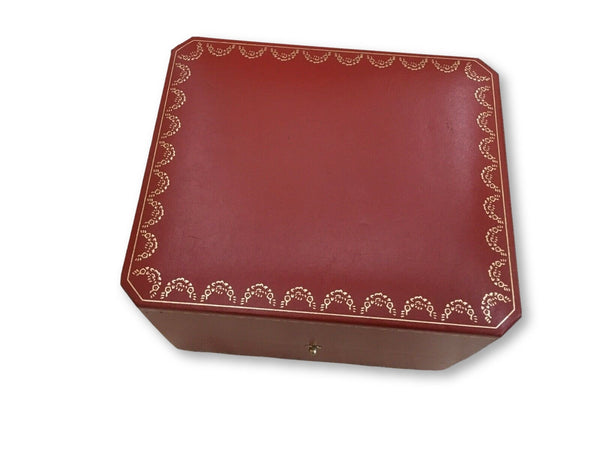 Cartier Watch Box in Red