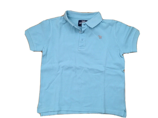 THOMAS BROWN blue polo T shirt Top SIZE 6-7 YEAR children