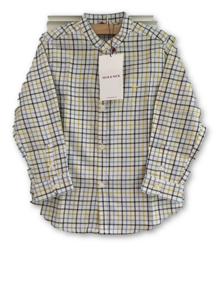 NECK & NECK KIDS Shirt Checked print 4-5 Years old 92-104 cm Boys Children
