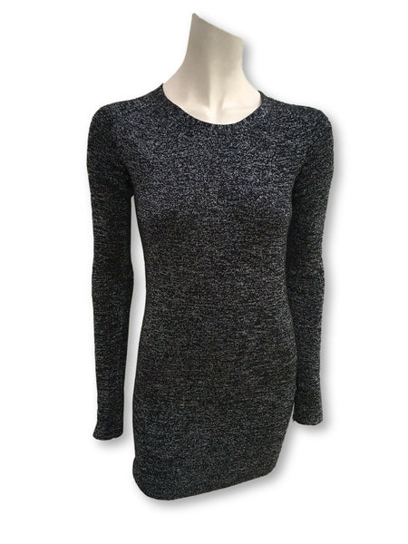 JOSEPH Lurex Silk Knit Jumper Sweater Mini Dress Size M medium Ladies