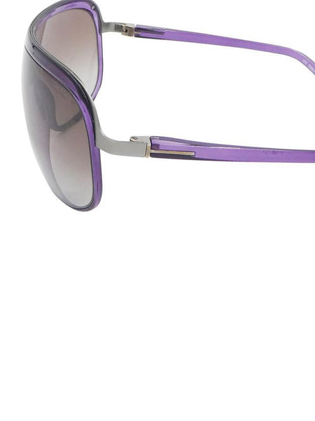 TOM FORD Mens Purple Shield Andre Aviator TF69 486 Gradient Sunglasses Men