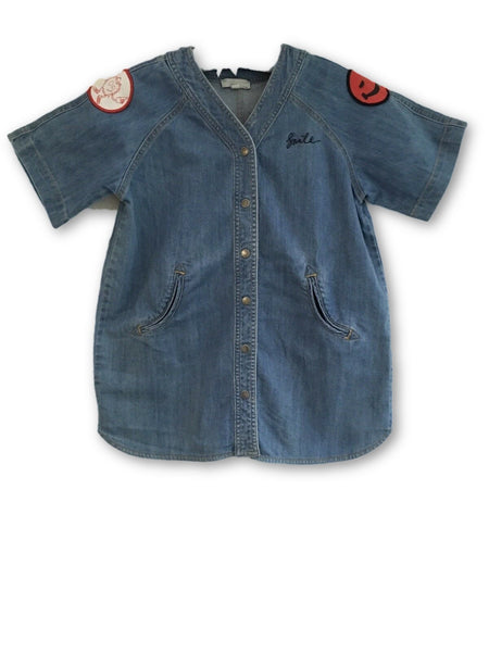 Stella McCartney Blue Jeans Embroidered Denim Jacket Shirt Boys  Children