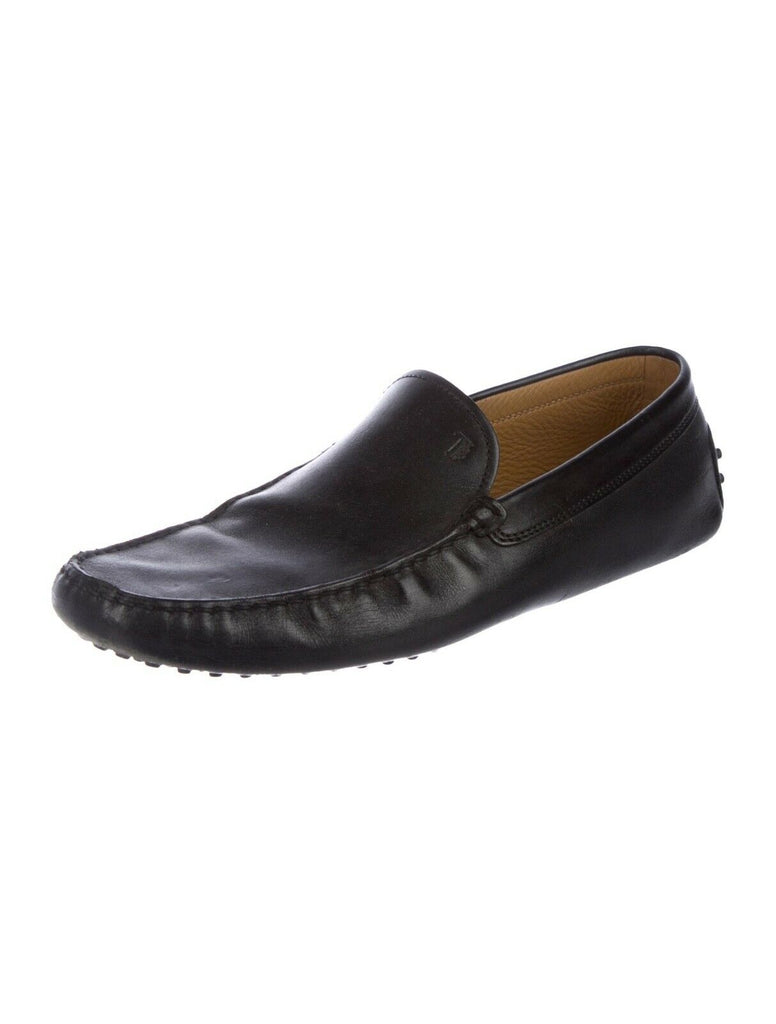 Tod's Driving Loafers Moccasin Leather Shoes Men