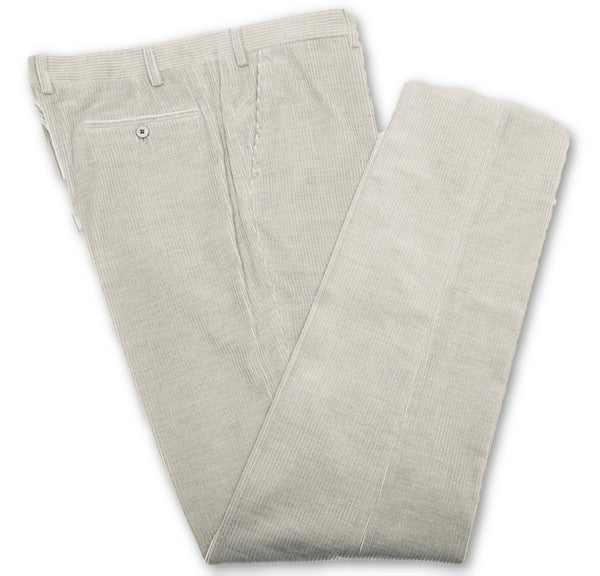 LORO PIANA Flat Front Corduroy Pants Trousers Size I 50 US 34 Men