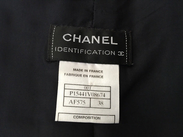 Chanel Identification 00T MOST WANTED 2000 quilted top F 38 UK 10 US 6Ladies