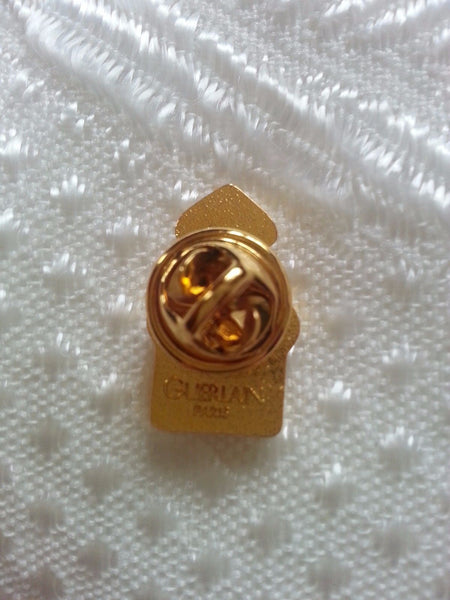 GUERLAIN Paris Pin Authentic and Vintage - L'Heure Bleue Brooch Ladies