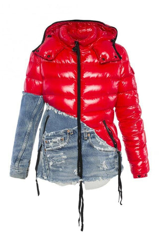 MONCLER X GREG LAUREN Limited Edition SOLD OUT down jacket Size 3 Ladies