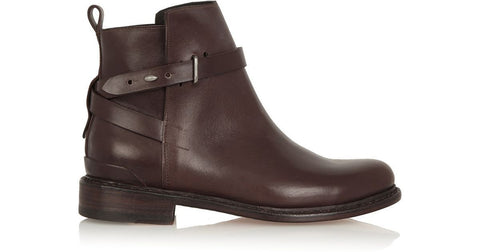 Rag & Bone Driscoll Chelsea Flat Boot Booties Brown Shoes  Ladies