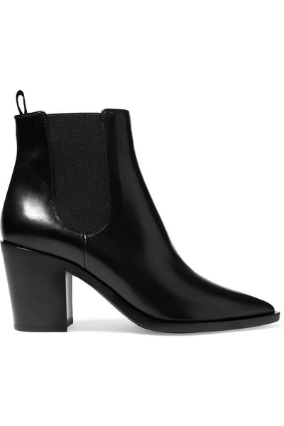 GIANVITO ROSSI 2019 70 leather Chelsea boot booties  Ladies