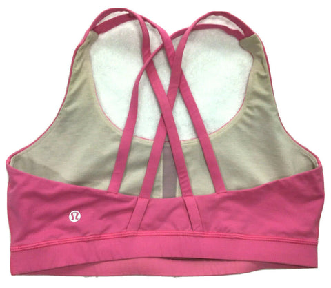 Lululemon Sportswear Pink Bra Top Size S small ladies