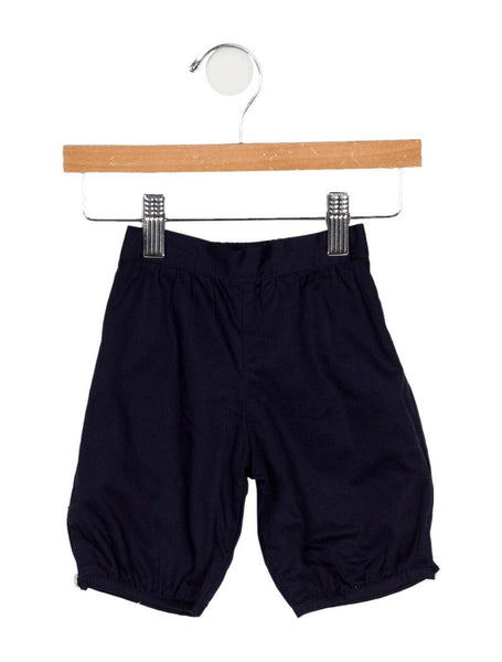 AMAIA Navy Shorts Cinched Pants 2 Years Boys Children.