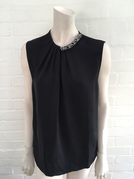3.1 Phillip Lim Runaway Silk Sleeveless Top ladies