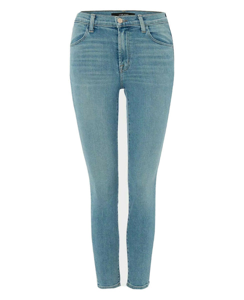 J Brand Alana High Rise Crop Skinny Jeans in Surge Size 27 ladies