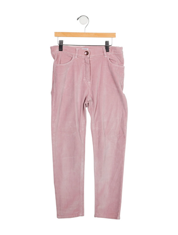 Seeds Jeans Girls' Courduroy Pants Trousers In Pink Size 6 Years Old children