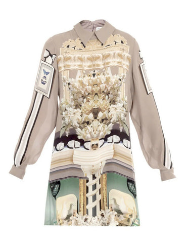 MARY KATRANTZOU INTERIOR CHANDELIER PRINT DRESS AS WORN BY BEYONCE SIZE XS ladies