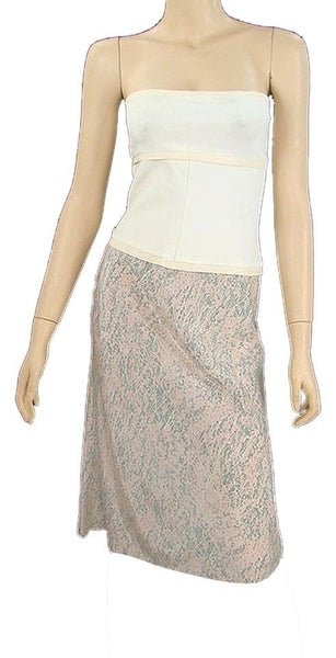 NARCISO RODRIGUEZ Strapless crop top Size I 40 F 36 UK 8 US 4 S SMALL Ladies