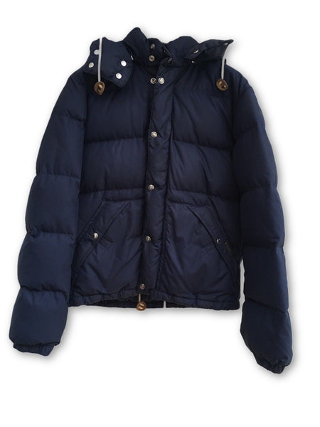 RALPH LAUREN POLO PUFFER DOWN JACKET IN NAVY Amazing Size M MEDIUM Men