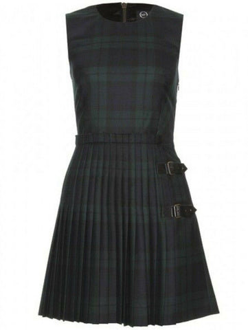 Alexander McQueen Tartan Kilt Wool Dress I 38 UK 6 US 2 As in Gossip Girl ladies