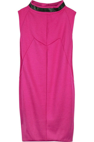 MARC MARC JACOBS PINK Wool sack mini dress Size XS ladies