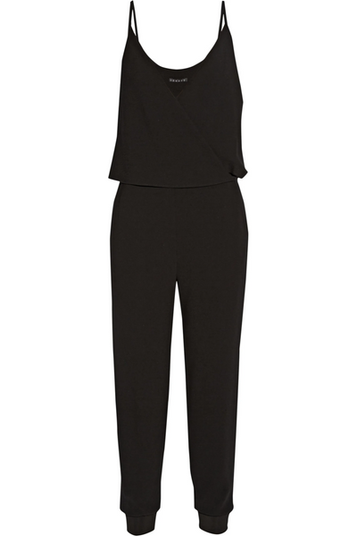 THEORY Odila crepe jumpsuit black  Size US 4 UK 8 S SMALL  ladies