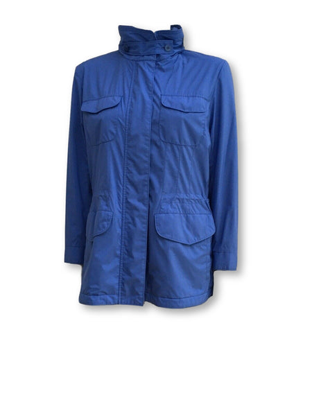 Loro Piana Traveller Windmate Jacket Blue Ladies