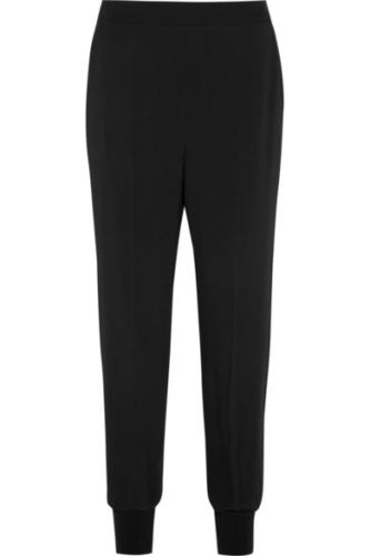 Stella McCartney Julia stretch-cady tapered Pants Trousers Size I 38 UK 6 US 2