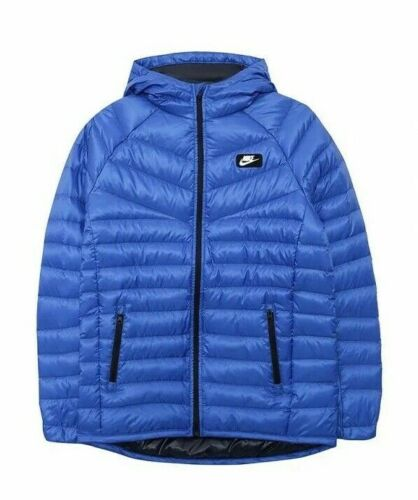 Nike Dri-FIT Boys Blue HOODIE Jacket SIZE 8-10 YEARS ladies