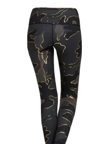 Noli Yoga Liquid Studio Leggings - Gold Guerra Women's Size XS ladies
