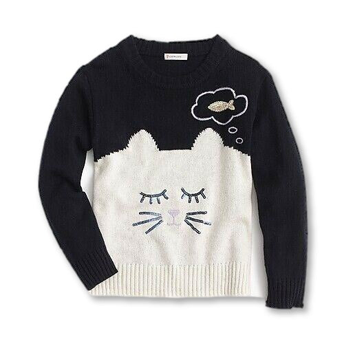 Crewcuts by J. Crew Dreamy Cat Knitted 4-5 years Children