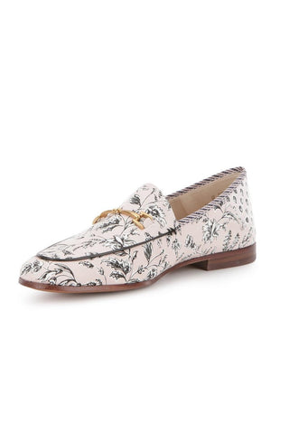Sam Edelman 'Loraine' leather-trimmed printed canvas loafers shoes  Ladies