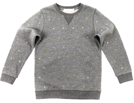 Stella McCartney KIDS Girls' Dove Sweater Top Sweatshirt 10 Years old Children