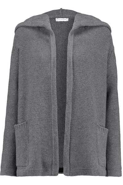 CHINTI & PARKER Merino wool and cashmere-blend oversized hooded cardigan Size XS ladies