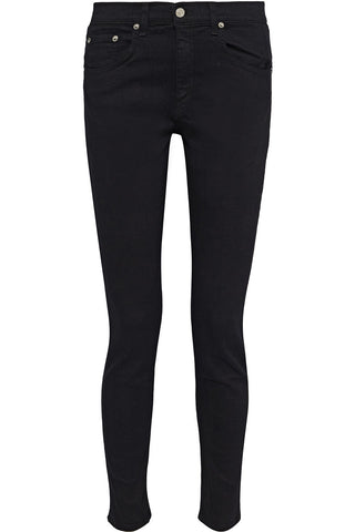 Rag & Bone / JEAN Black The Skinny low-rise skinny jeans Size 24 ladies