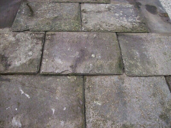 "Reclaimed 18"" x 10"" Welsh Purple Roofing Slate (per 100)"
