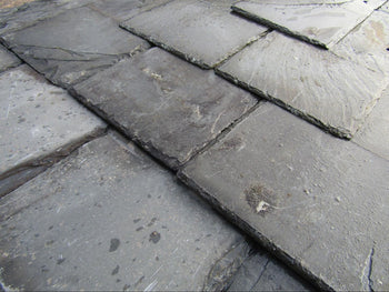 "Reclaimed 18"" x 9"" Welsh Grey Roofing Slate (per 100)"