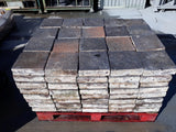 "Reclaimed Batch Of 160 Handmade Blue Brindle 9"" x 9"" Pammet Quarry Tiles 2.5"""