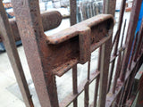 Reclaimed Antique Hand Forged Wrought Cast Iron 18ft Wide Front Gates