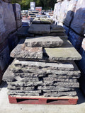 Reclaimed York Stone Flags (Smooth & Riven) Per Square Yard