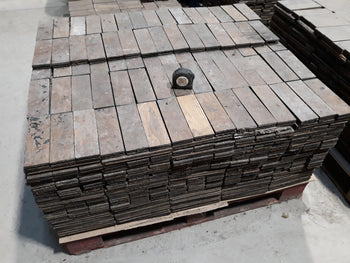 Batch Of  14 M2 Reclaimed Oak Parquet Flooring 230mm x 73mm x 20mm
