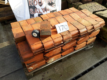 Reclaimed Batch of 170 Hand Made Cheshire Red Corbel Brick Plinths 3""
