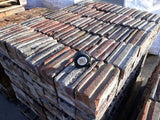 Batch Of 700 Reclaimed Victorian Brindle Clay Paver Drainage Channel Oswestry