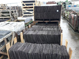 Batch of 5000 Reclaimed 12 x 10 Welsh Penrhyn Heather Purple Roofing Slate