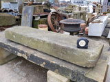 Reclaimed York Stone Step Threshold Cill Sill Bench Table Top 4ft Long