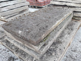"Batch Of 100ft Reclaimed York Stone Grinshill Stone Copings 24"" Wide Riven Top"